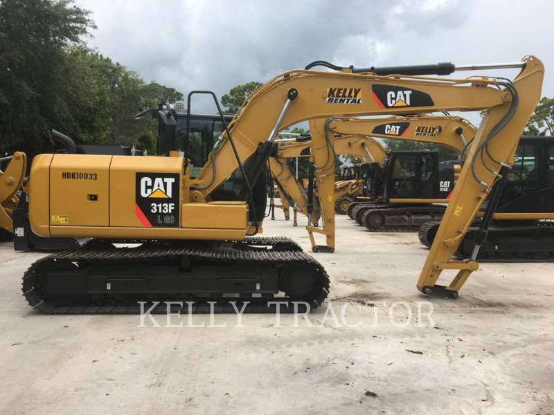 CATERPILLAR TRACK EXCAVATORS 313FL GC equipment  photo 6