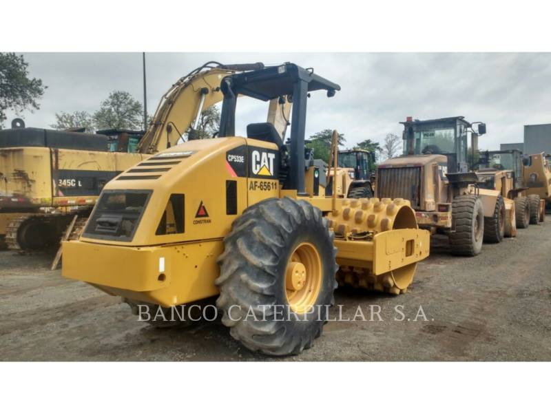 CATERPILLAR EINZELVIBRATIONSWALZE, BANDAGE CP-533E equipment  photo 5