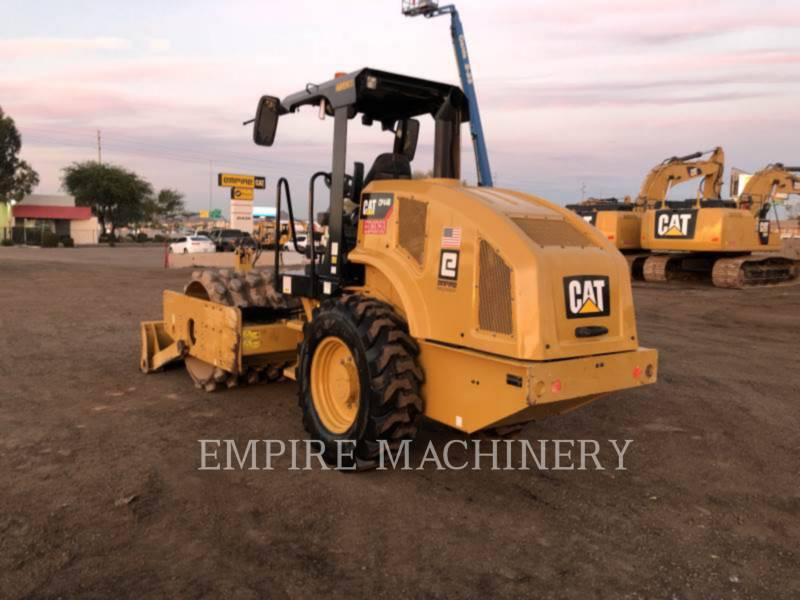 CATERPILLAR VIBRATORY SINGLE DRUM PAD CP44B equipment  photo 3