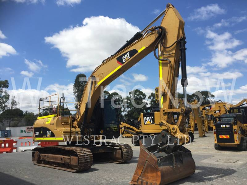 CATERPILLAR KETTEN-HYDRAULIKBAGGER 320D equipment  photo 3