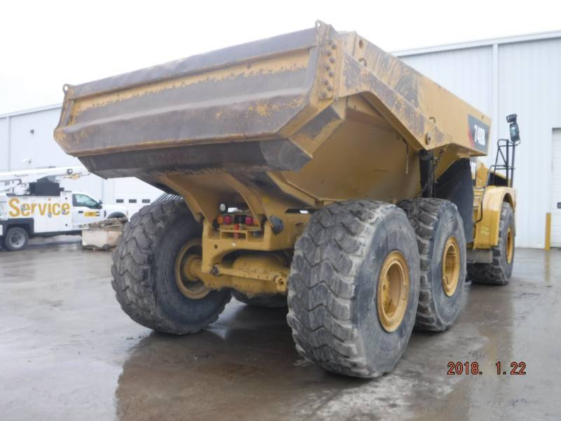 CATERPILLAR CAMIONES ARTICULADOS 740B equipment  photo 3