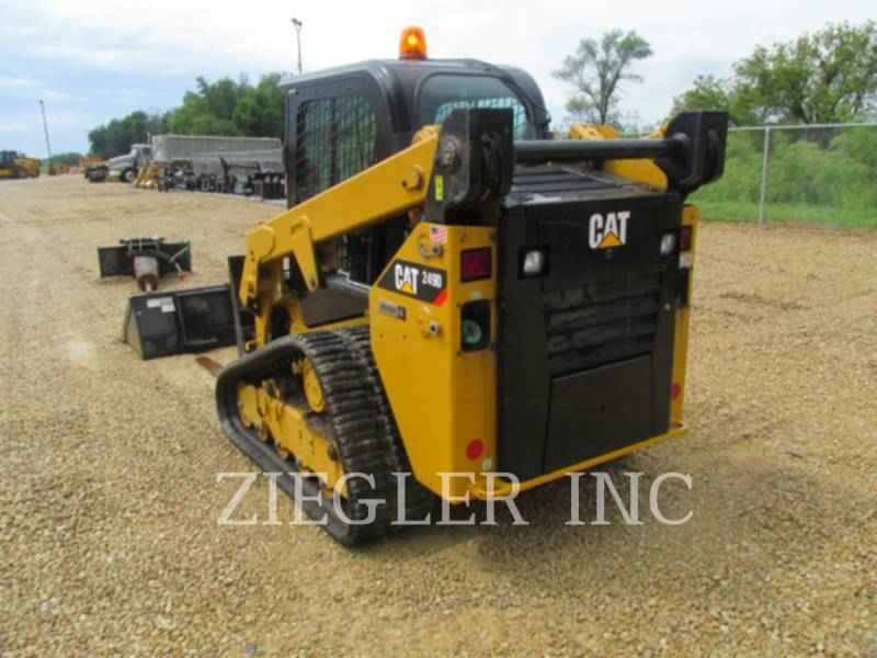 CATERPILLAR PALE CINGOLATE MULTI TERRAIN 249D equipment  photo 6
