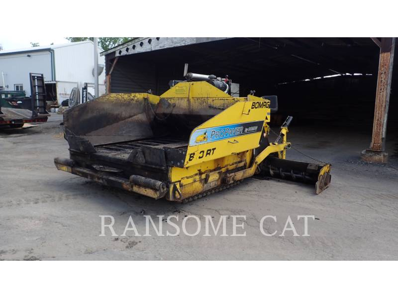 BOMAG ASPHALT PAVERS 813RT equipment  photo 1
