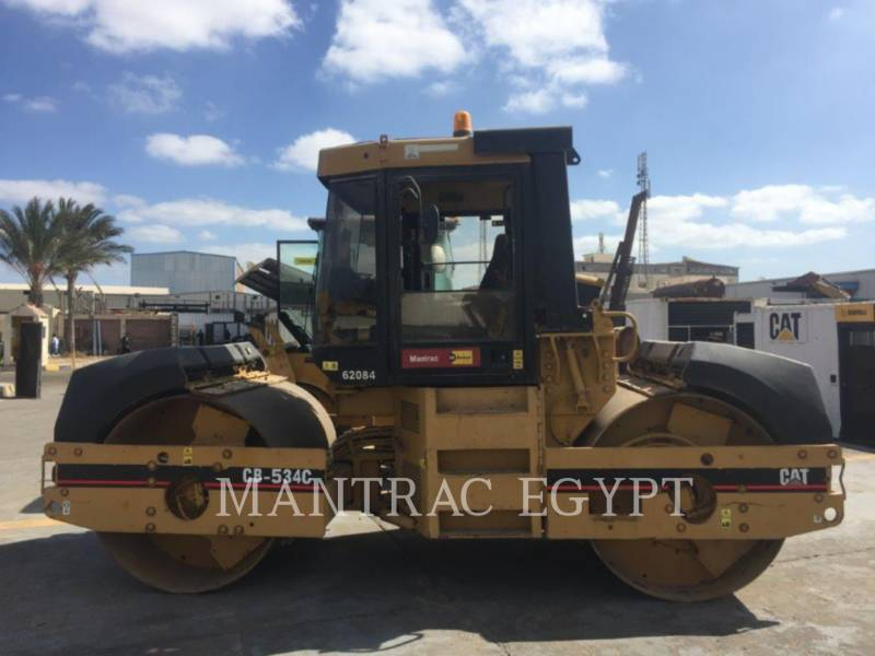 CATERPILLAR ROLO COMPACTADOR DE ASFALTO DUPLO TANDEM CB-534C equipment  photo 3