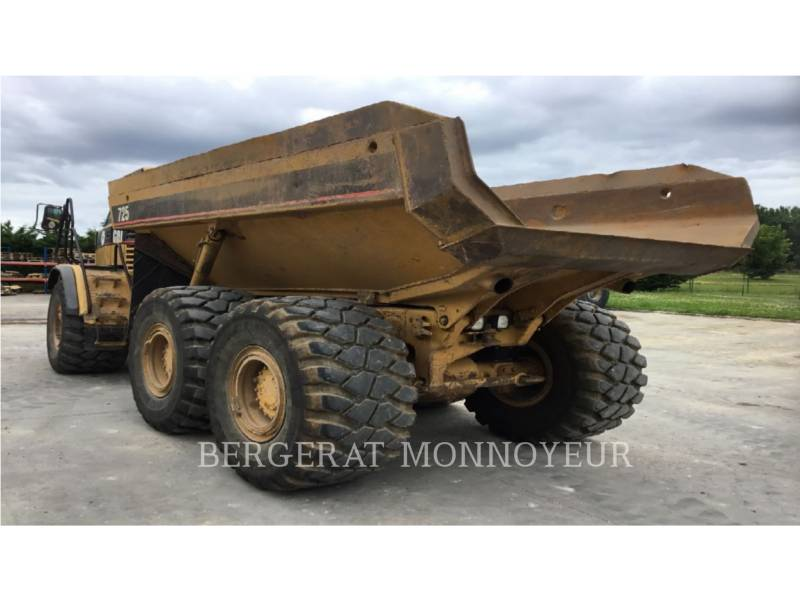 CATERPILLAR DUMPER ARTICOLATI 725 equipment  photo 6
