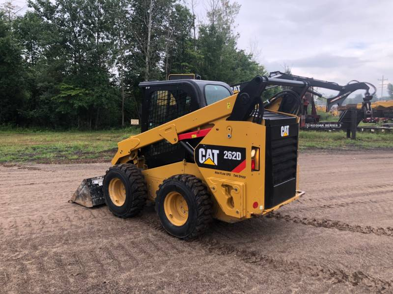 CATERPILLAR PALE COMPATTE SKID STEER 262 D equipment  photo 4