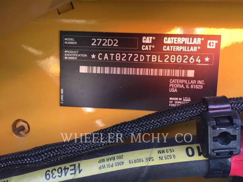 CATERPILLAR MINICARGADORAS 272D2 C3H2 equipment  photo 6