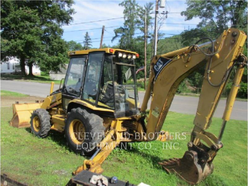 CATERPILLAR BACKHOE LOADERS 416C equipment  photo 3