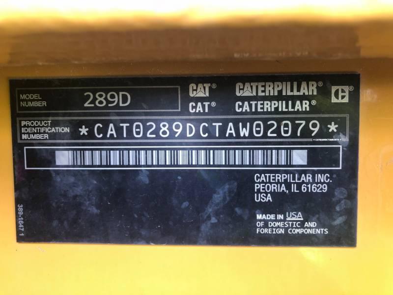 CATERPILLAR CARGADORES MULTITERRENO 289 D equipment  photo 21