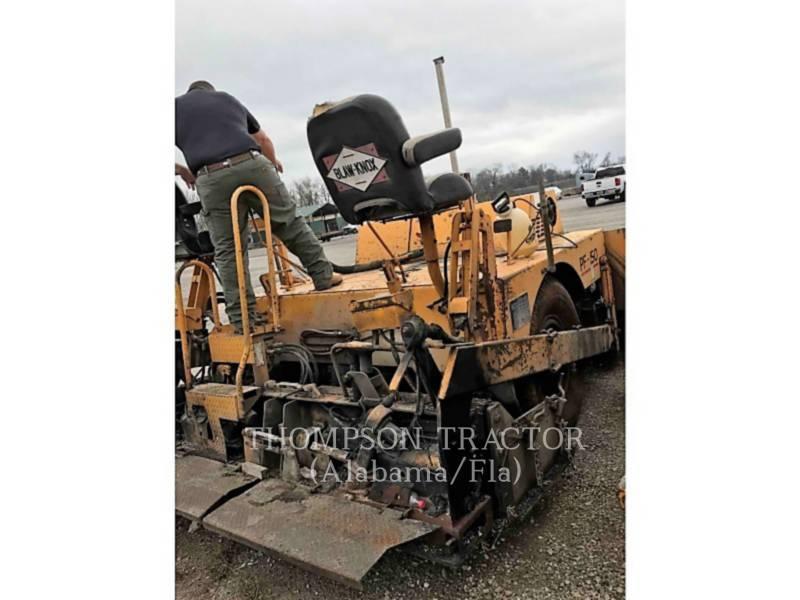 BLAW KNOX PAVIMENTADORA DE ASFALTO PF-150 equipment  photo 9