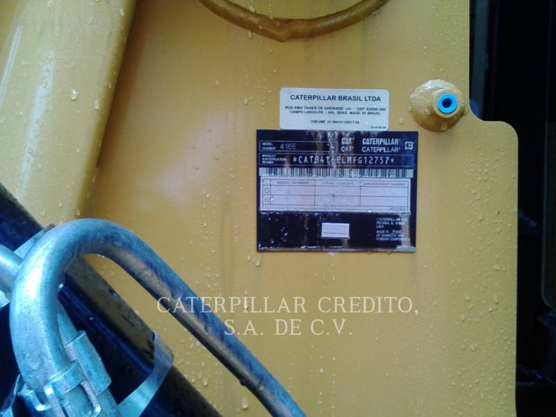 CATERPILLAR RETROEXCAVADORAS CARGADORAS 416EST equipment  photo 7