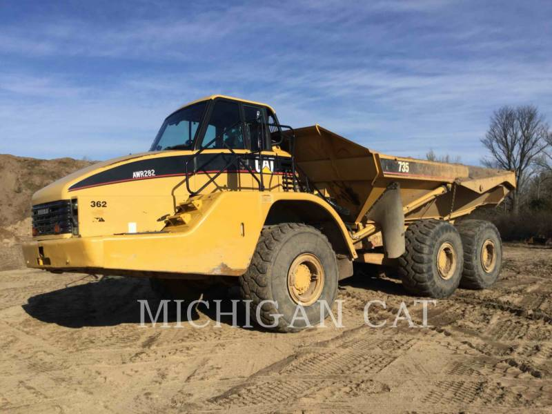 CATERPILLAR ARTICULATED TRUCKS 735 T equipment  photo 2