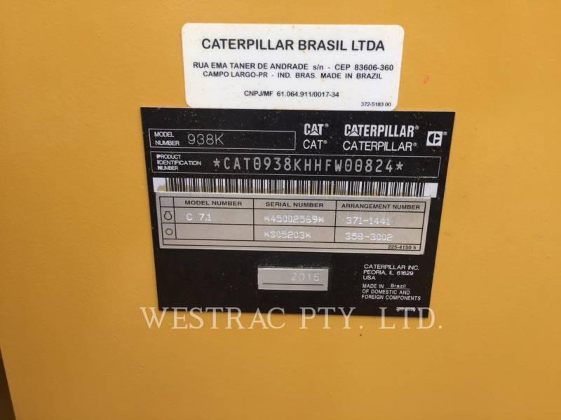 CATERPILLAR 轮式装载机/多功能装载机 938K equipment  photo 21