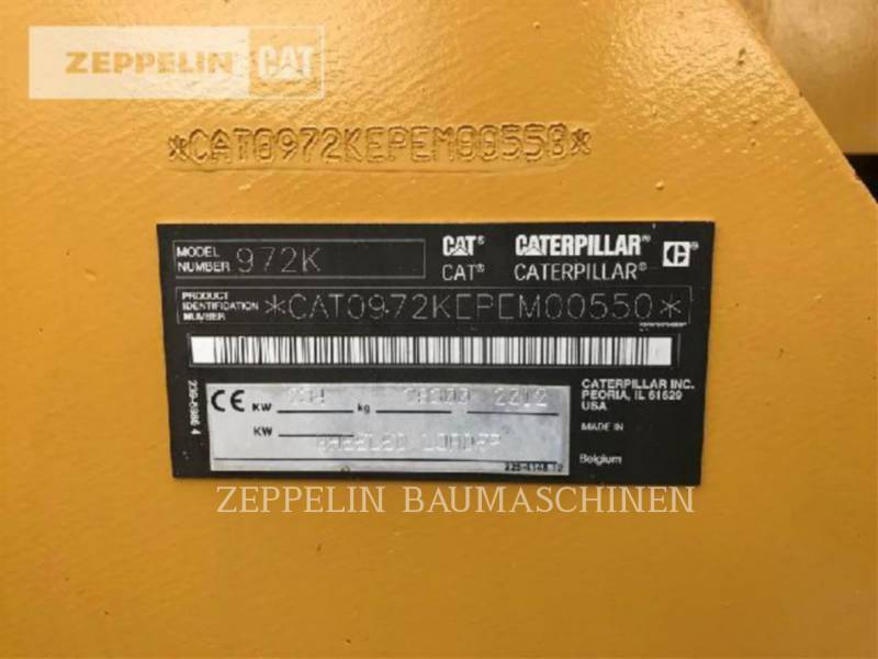 CATERPILLAR CARGADORES DE RUEDAS 972K equipment  photo 15