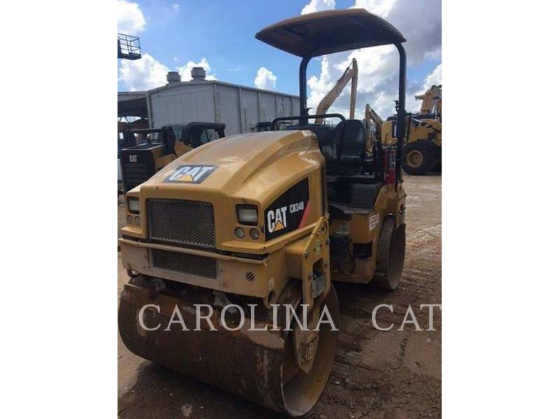 CATERPILLAR TAMBOR DOBLE VIBRATORIO ASFALTO CB34B equipment  photo 1
