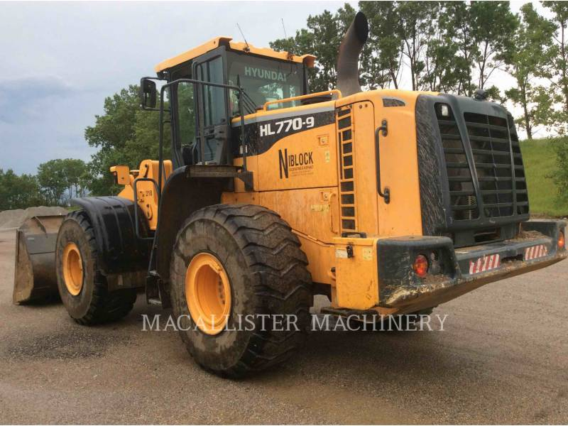 HYUNDAI CARGADORES DE RUEDAS HL770-9 equipment  photo 3