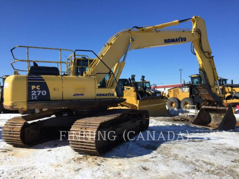 KOMATSU TRACK EXCAVATORS PC270LC-8 equipment  photo 1