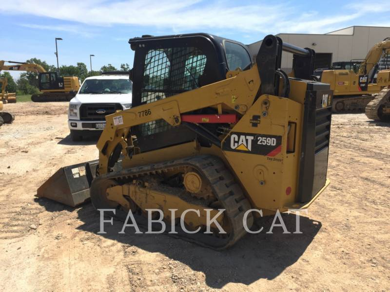 CATERPILLAR MULTI TERRAIN LOADERS 259D C3H4 equipment  photo 2