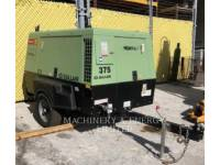 SULLAIR AIR COMPRESSOR (OBS) 185DPQ equipment  photo 1