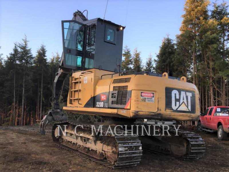 CATERPILLAR MASZYNA LEŚNA 320D FM equipment  photo 5
