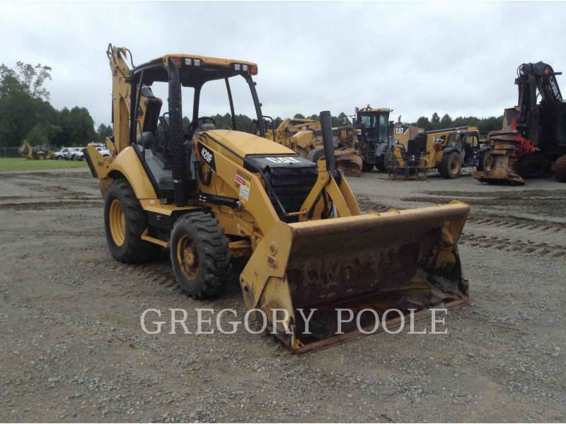 CATERPILLAR RETROESCAVADEIRAS 420F/4MT equipment  photo 1