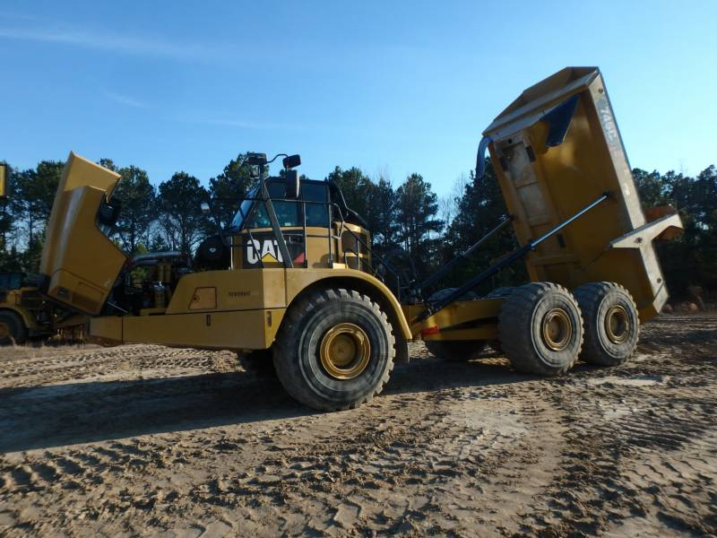 CATERPILLAR KNICKGELENKTE MULDENKIPPER 745C equipment  photo 10