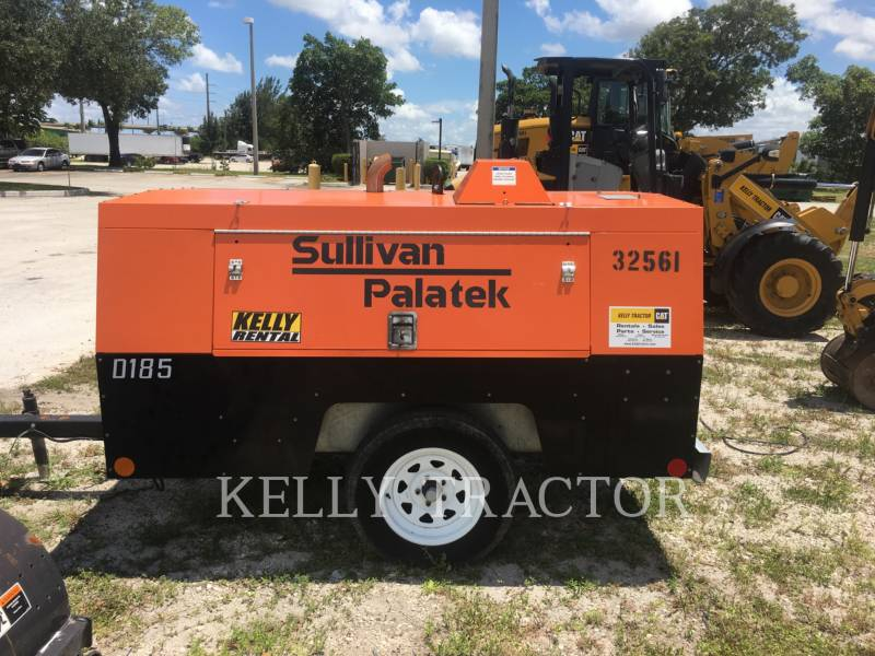 SULLIVAN AIR COMPRESSOR D185P DZ equipment  photo 1