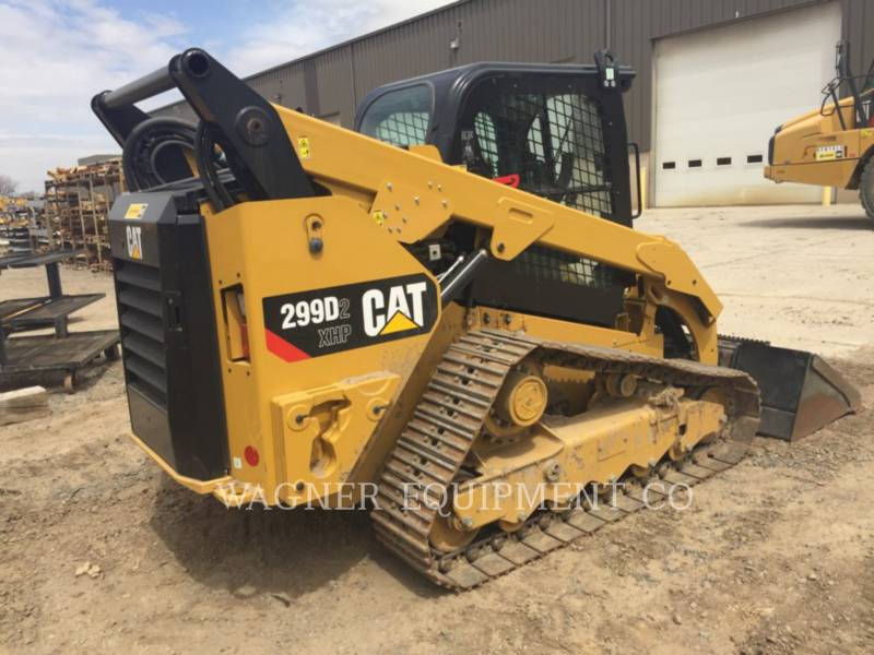 CATERPILLAR MINICARGADORAS 299D XHPHF equipment  photo 3