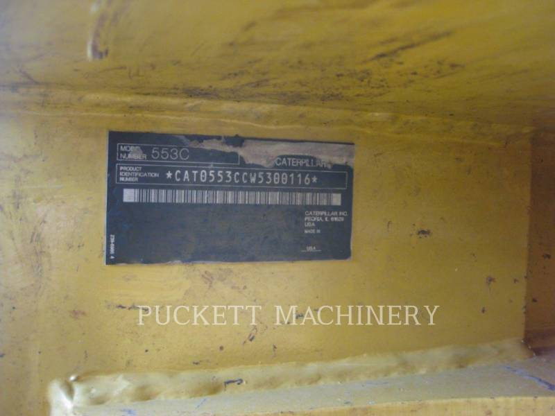 CATERPILLAR FORESTRY - FELLER BUNCHERS - WHEEL 553C equipment  photo 3