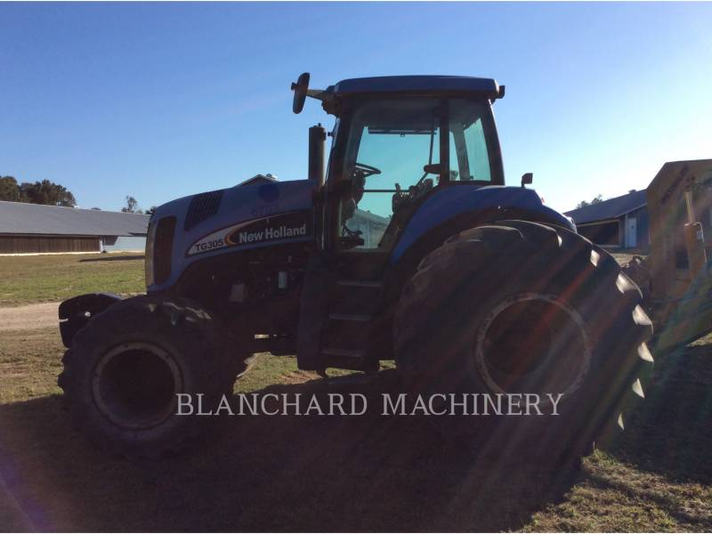 NEW HOLLAND LTD. AG TRACTORS TG305 equipment  photo 2