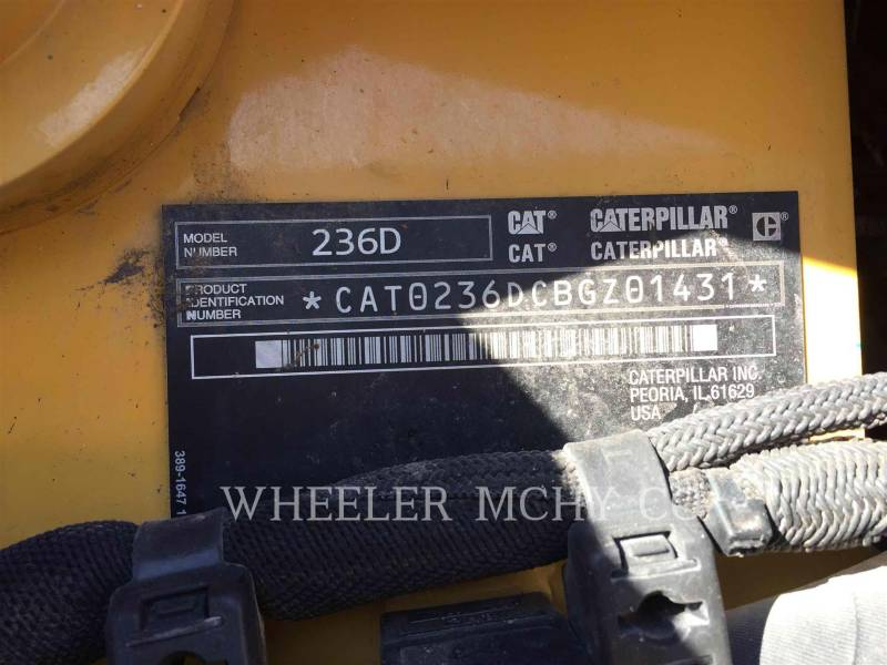 CATERPILLAR SKID STEER LOADERS 236D C3-H2 equipment  photo 6