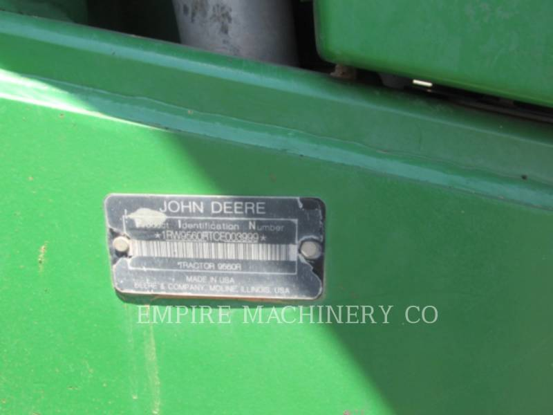 JOHN DEERE TRACTORES AGRÍCOLAS 9560R equipment  photo 7