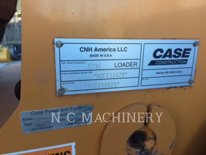CASE WHEEL LOADERS/INTEGRATED TOOLCARRIERS 521E equipment  photo 8