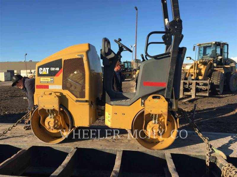 CATERPILLAR COMPACTEURS TANDEMS VIBRANTS CB14B equipment  photo 4