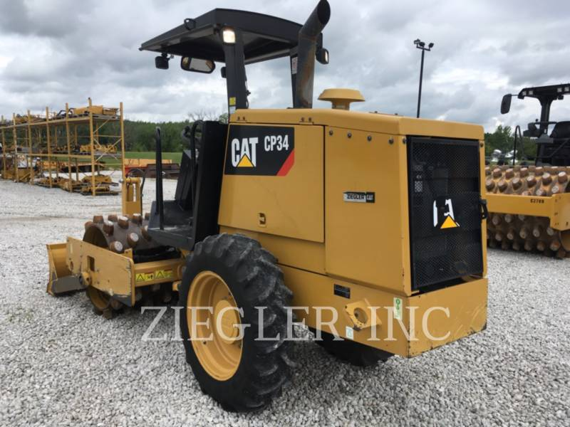 CATERPILLAR EINZELVIBRATIONSWALZE, BANDAGE CP34 equipment  photo 5
