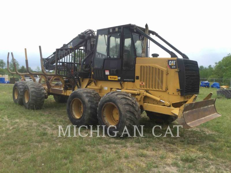 CATERPILLAR MACHINE FORESTIERE 574 equipment  photo 1