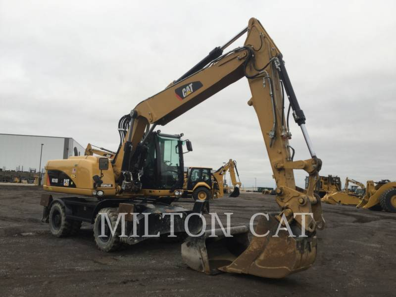 CATERPILLAR ホイール油圧ショベル M318D equipment  photo 2