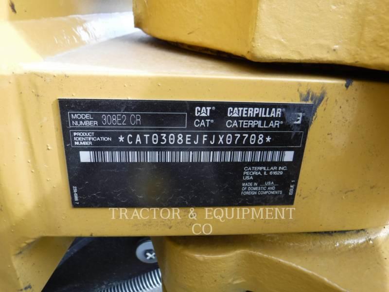 CATERPILLAR ESCAVADEIRAS 308E2CRSB equipment  photo 2