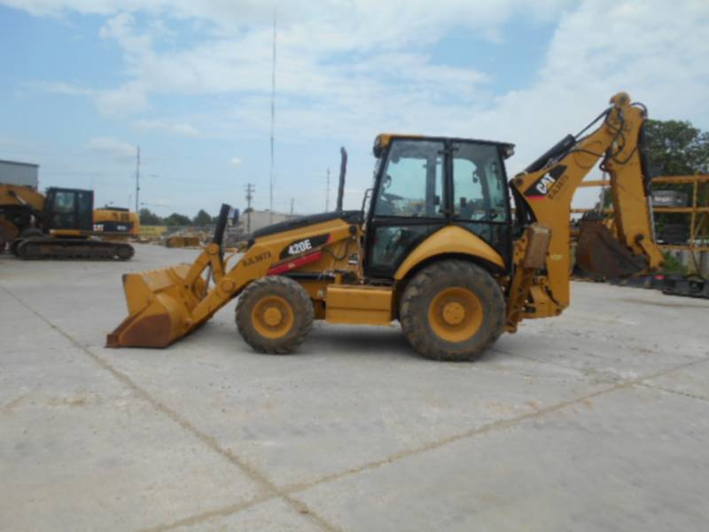 CATERPILLAR BACKHOE LOADERS 420EST equipment  photo 2