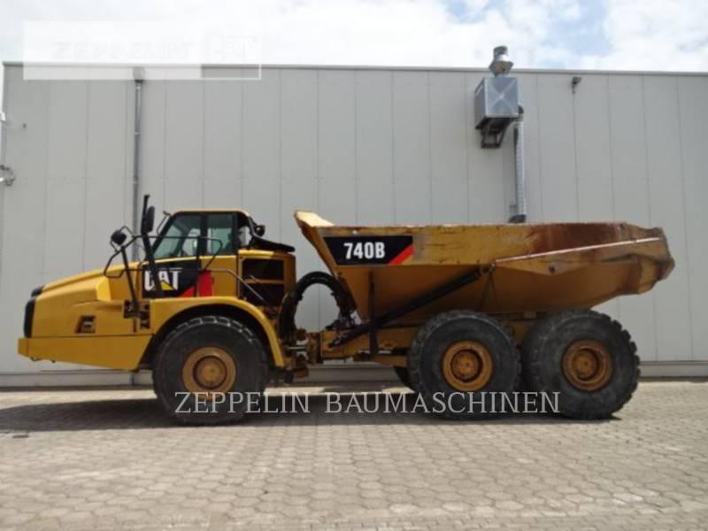 CATERPILLAR DUMPER ARTICOLATI 740B equipment  photo 2
