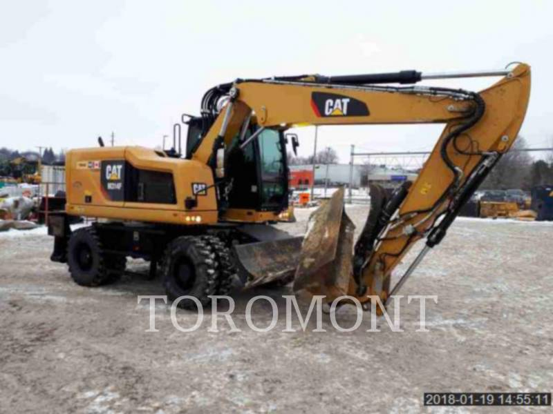CATERPILLAR PELLES SUR CHAINES M314F equipment  photo 2