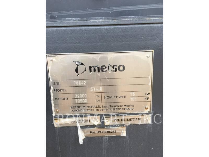 METSO SCREENS ST4.8 equipment  photo 6