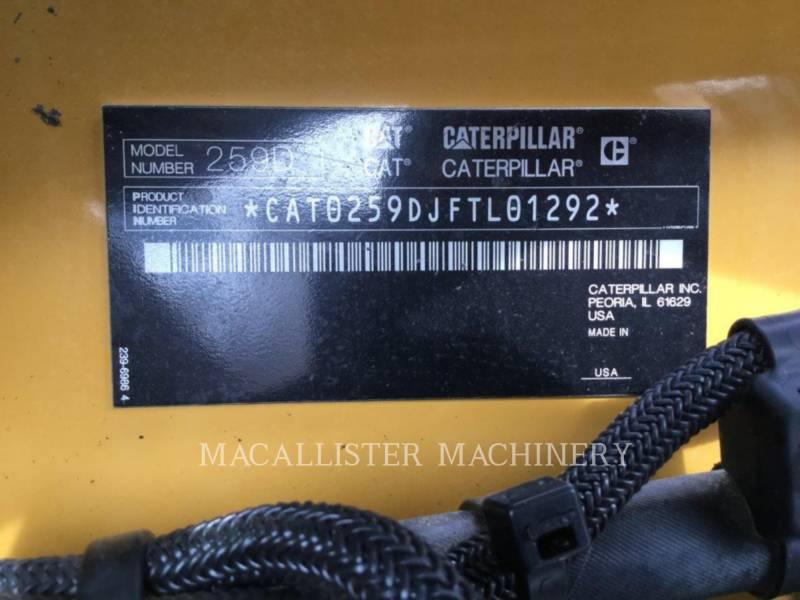CATERPILLAR CARGADORES MULTITERRENO 259D equipment  photo 23