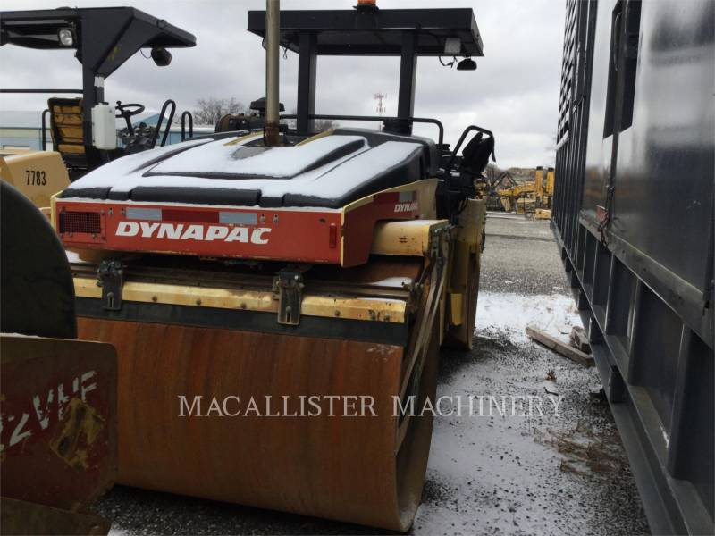 DYNAPAC VIBRATORY DOUBLE DRUM ASPHALT CC522VHF equipment  photo 4