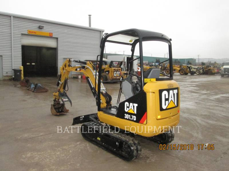 CATERPILLAR KOPARKI GĄSIENICOWE 301.7D equipment  photo 5