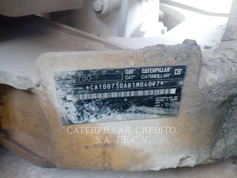 CATERPILLAR KNICKGELENKTE MULDENKIPPER 730 equipment  photo 3