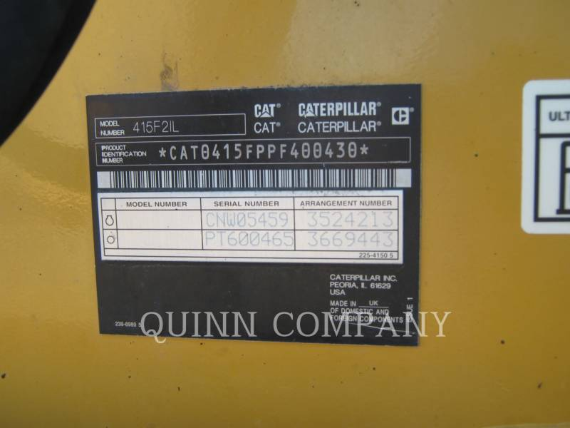 CATERPILLAR INDUSTRIAL LOADER 415F2IL equipment  photo 6
