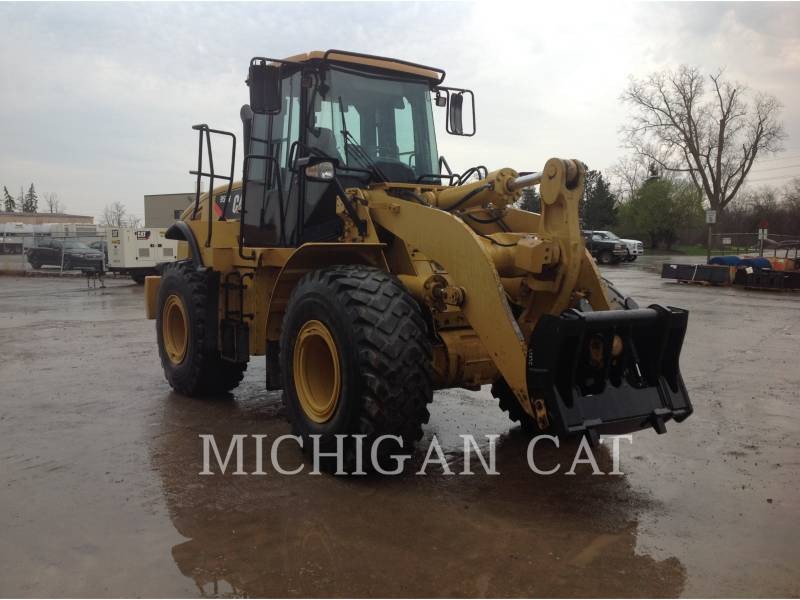 CATERPILLAR WHEEL LOADERS/INTEGRATED TOOLCARRIERS 950H RQ equipment  photo 2
