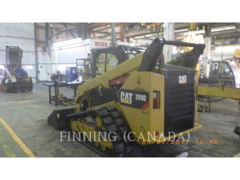 CATERPILLAR CARGADORES MULTITERRENO 289 D equipment  photo 2
