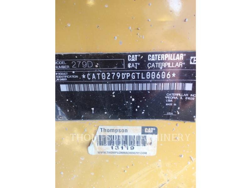 CATERPILLAR CARGADORES MULTITERRENO 279DHF equipment  photo 5